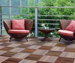 lay patio and balcony with wooden tiles u2013 use wood tiles for