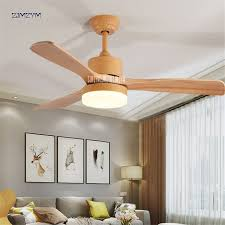 48 ceiling fan with light 48 inch nordic wood ceiling fan lights with remote control 220volt