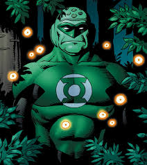 which green lantern needs no sleep or food and who is mute dc