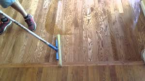 how to refinish hardwood floors part 3 apply polyurethane