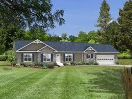 small ranch homes danbury hr130a pennwest ranch modular home exteriors