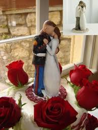 willow tree cake toppers usmc wedding cake topper wedding corners