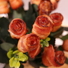 how to make a bacon bouquet because flowers die but bacon is forever