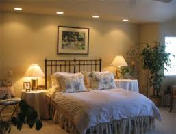 Recessed Lighting For Bedroom With Recessed Lights Above Bed There S Really No Need For Ls On