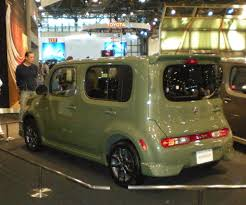 2009 nissan cube new york auto show 2009 olive green nissan cube flickr