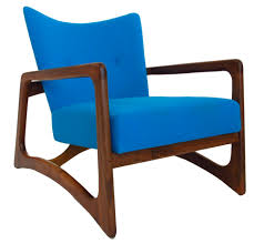 furniture adrian pearsall craft blue mid century modern chairs