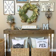living room console table farmhouse style see this instagram