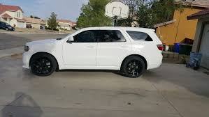 Dodge Durango Rt 2016 - about aftermarket wheels