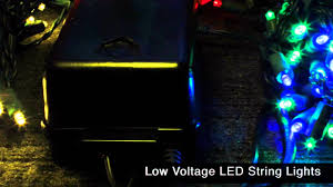 low voltage led string lights low voltage led string lights youtube