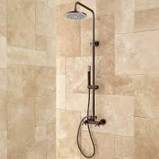 Exposed Outdoor Shower Fixtures - best 25 outdoor shower kits ideas on pinterest shower kits