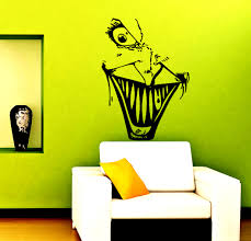 horror home decor wall decals horror face decal vinyl sticker home decor horror