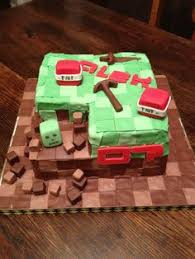 minecraft cake lucas u0027s birthday kids