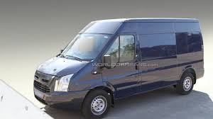 2011 Ford Transit Van 2012 2013 Ford Transit Mule Spied For The First Time