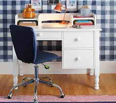 Small Desks With Hutch Catalina Storage Desk U0026 Hutch Pottery Barn Kids