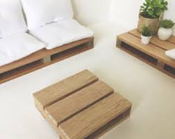 Wooden Pallet Coffee Table Pallet Coffee Table Etsy