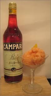 campari orange negroni sorbet recipe summer fruit cup