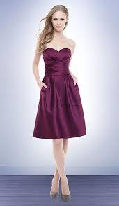 bill levkoff bridesmaid dresses bill levkoff satin bridesmaid dress with pockets 172