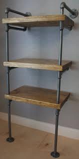 Industrial Shelving Units by Best 25 Industrial Bookshelf Ideas On Pinterest Pipe Bookshelf