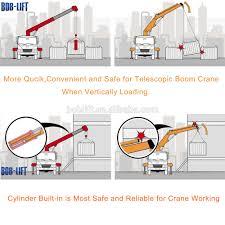 8 ton telescopic boom crane operator seat truck mounted mobile