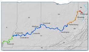 ohio river valley map ohio r fish consumption advisories