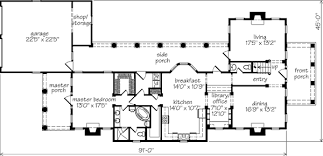 Southern Living Floorplans Franklin House Mouzon Design Southern Living House Plans