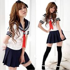 cosplay japanese students sailor uniform anime
