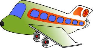 aereo clipart image de dessin anim礬 d un avion du passager vecteurs publiques
