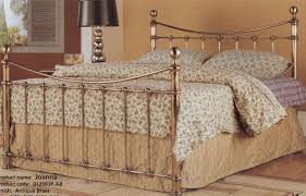 Decorative Metal Bed Frame Queen Bedroom Exciting Ideas For Bedroom Design Ideas Using Gold Queen