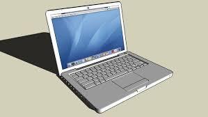 laptop model design in sketchup free 3d laptop download