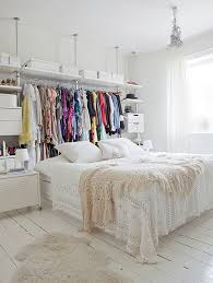 bed in closet ideas storage ideas for a bedroom without a closet genius clothing