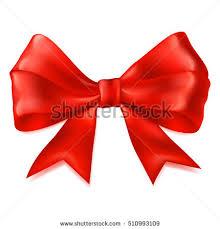 big ribbon beautiful big bow made ribbon stock illustration 510993109