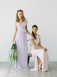 joanna august bridesmaid mismatched bridesmaid style from joanna august green wedding