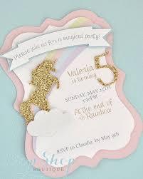 unicorn birthday invitations plumegiant com