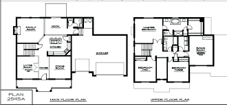 Two Story Home by Floor Plan 2 Story House Fascinating Two Story House Plans Home 2