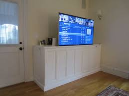 Rv Under Cabinet Tv Mount How To Make A Tv Lift Cabinet 24 Steps With Pictures