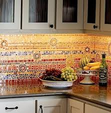 mosaic tile for kitchen backsplash mosaic tile ideas bright and cheery kitchen backsplash engaging 22