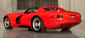 dodge viper u201cwhite mule u201d prototype to make fir hemmings daily