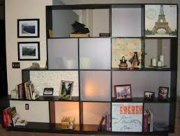 interesting living room divider shelves images decoration