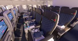 delta gives first look of premium economy cabin set for 2017 debut