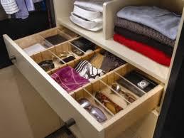 closet drawer organizer closet jewelry drawer organizer drawers