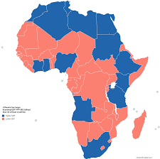 African Countries Map Lithuania Has Larger Economy Gdp Ppp 85 Billion Than 40 African