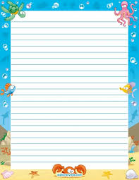 printable animal lined paper 110 best printable lined writing paper images on pinterest writing