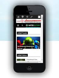 bagaimana cara membuat website versi mobile cara melihat tilan website versi mobile android blackberry iphone