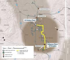Alaska Pipeline Map by Thunder Creek Ngl Pipeline Meritage Midstream