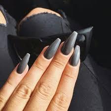 best 25 dark acrylic nails ideas on pinterest dark nails