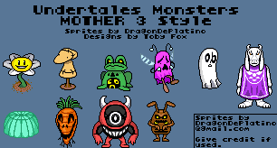 custom edited undertale customs monsters ruins
