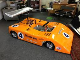 gulf racing wallpaper bangshift com half scale mclaren can am car
