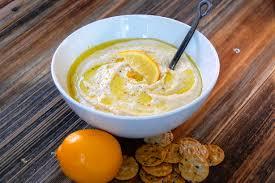 meyer lemon hummus