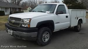 2003 chevrolet silverado 2500hd utility truck item k7707