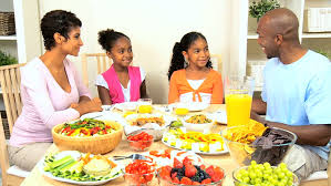 a family gathering at the dinner table stock footage 1637308